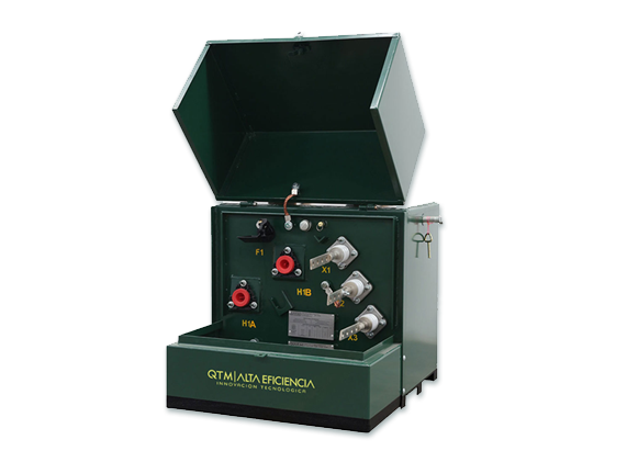 transformadores electricos pedestal monofasico 1 - Quantum Electric | Transformadores tipo Poste, Pedestal y Subestación