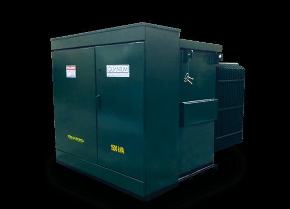 transformadores electricos pedestal trifasico - Quantum Electric | Transformadores tipo Poste, Pedestal y Subestación